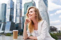 Porträt der Geschäftsfrau Lizenzfreies Stockbild