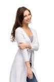 Porträt der hübschen Frau lizenzfreie stockfotografie