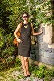 Porträt der jungen amerikanischen Geschäftsfrau Stockfotos