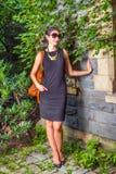 Porträt der jungen amerikanischen Geschäftsfrau Stockbilder
