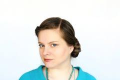 Porträt der jungen attraktiven Frauen Lizenzfreies Stockbild