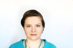 Porträt der jungen attraktiven Frauen Lizenzfreies Stockfoto