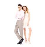 Porträt der jungen attraktiven Paare lizenzfreies stockbild