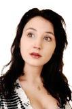 Porträt der jungen Frau. Lizenzfreies Stockfoto
