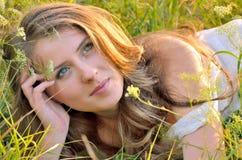 Porträt der jungen Frau Lizenzfreies Stockfoto