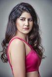 Porträt der jungen indischen Frau Lizenzfreies Stockfoto