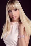 Porträt der jungen schönen Frau Lizenzfreies Stockbild