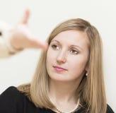 Porträt der jungen Schönheit. Lizenzfreies Stockfoto