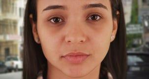 Porträt der mexikanischen Frau stockbild