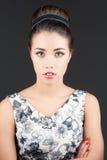 Porträt der schönen Frau lizenzfreie stockfotografie