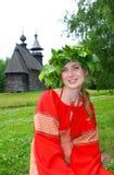 Porträt der schönen jungen Frau Lizenzfreie Stockfotos
