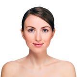 Porträt der schönen jungen Frau Lizenzfreies Stockfoto