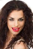 Porträt der schönen jungen sexy Frau Lizenzfreies Stockfoto