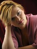 Porträt der schönen Mädchennahaufnahme. Lizenzfreie Stockfotografie