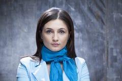Porträt der weißen Frau Lizenzfreie Stockbilder