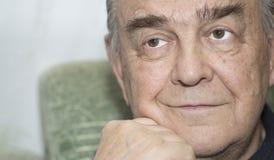 Porträt des älteren Mannes. Lizenzfreie Stockfotografie