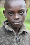 Porträt des afrikanischen Jungen Lizenzfreie Stockfotos