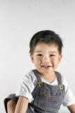 Porträt des Babys gekleidet Stockfotografie