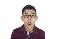 Porträt des besorgten Jungen Lizenzfreie Stockfotografie