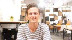 Porträt des Designers Smiling Lizenzfreies Stockfoto