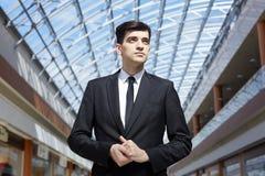 Porträt des erfolgreichen Geschäftsmannes lizenzfreie stockfotos