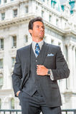Porträt des erfolgreiches Mittelalter-amerikanischen Geschäftsmannes in neuem Yo Lizenzfreie Stockfotos