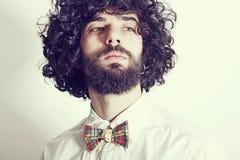 Porträt des gutaussehenden Mannes stockbild