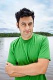 Porträt des gutaussehenden Mannes lizenzfreie stockbilder