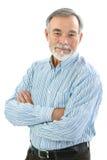 Porträt des hübschen älteren Mannes lizenzfreies stockfoto