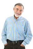Porträt des hübschen älteren Mannes lizenzfreies stockbild