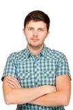Porträt des hübschen jungen Mannes Stockfoto