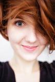 Porträt des hübschen Mädchens Lizenzfreies Stockfoto