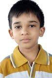 Porträt des indischen kleinen Jungen Lizenzfreies Stockfoto