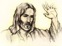 Jesus Christus von Nazaret Lizenzfreie Abbildung