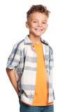 Porträt des Jungen Stockfotografie