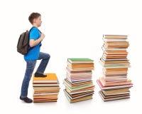 Steigerung zur Schularbeit Stockfoto