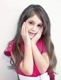 Porträt des jungen hübschen Mädchens Stockbild