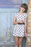 Porträt des jungen Mädchens Stockbilder
