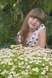 Porträt des jungen Mädchens Stockfotos
