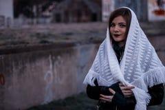 Porträt des jungen Mädchens Lizenzfreies Stockbild