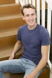 Porträt des jungen Mannes Stockfoto