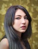 Porträt des jungen schönen Mädchens Stockfotografie