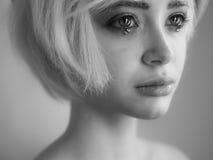 Porträt des jungen schönen Mädchens lizenzfreie stockfotos
