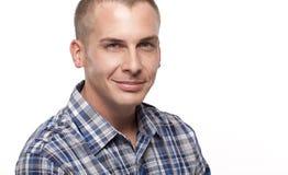 Durchschnittlicher schauender erwachsener Mann Lizenzfreie Stockfotografie