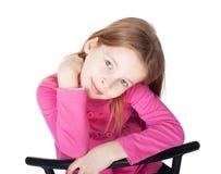 Porträt des kleinen Mädchens Stockbild
