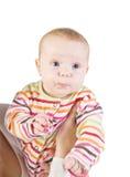 Porträt des kleinen Mädchens Lizenzfreies Stockbild