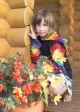Porträt des Mädchens. Lizenzfreie Stockfotografie