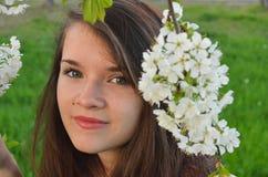 Porträt des Mädchens Stockfotografie