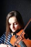Porträt des Mädchens Stockfoto