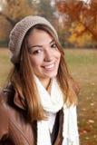 Porträt des Mädchens im Herbst Stockfoto